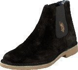 U S Polo Assn Faust 1 Suede Black