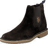 U S Polo Assn Faust 2 Dark Brown