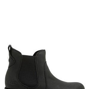 UGG Australia Bonham Leather Boots Black