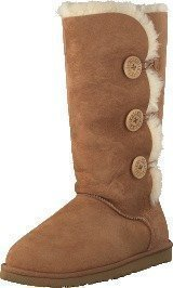Ugg Australia Bailey Button Triplet Chestnut