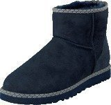 Ugg Australia W Cl Mini Scallop Navy