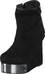 V Ave Shoe Repair Plate Boot Black