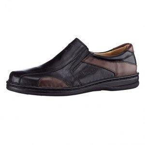 Valmonte Kengät Musta / Viininpunainen