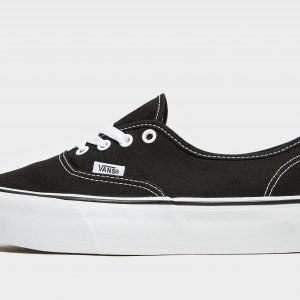 Vans Authentic Platform Musta