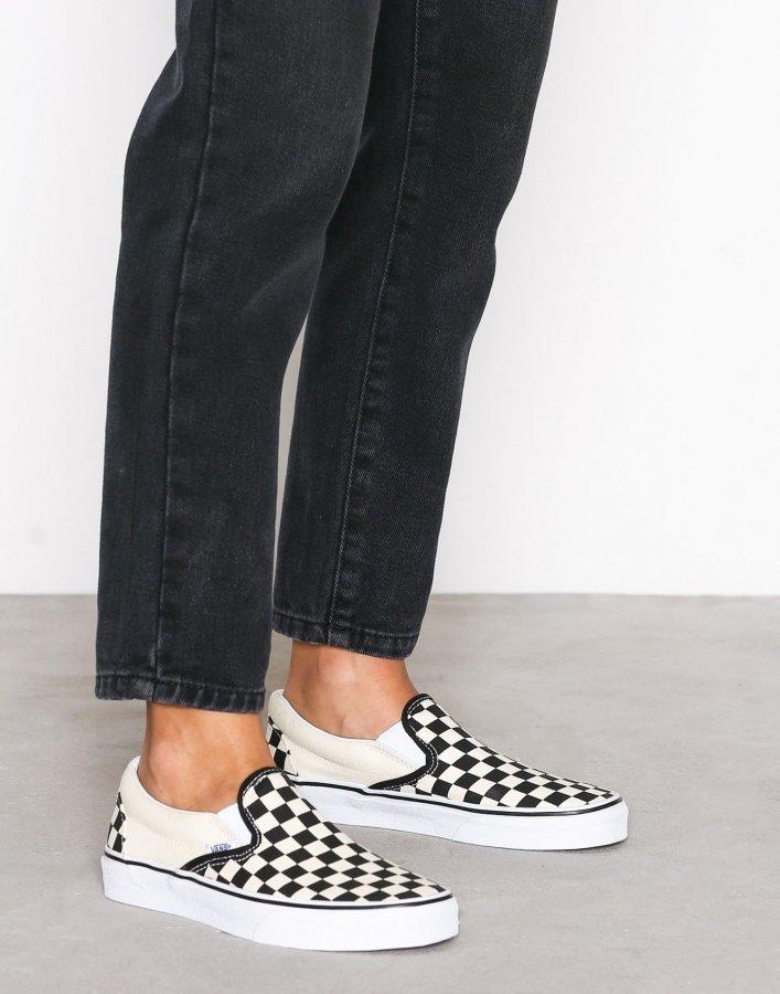 Vans Classic Slip-On Kengät Musta / Valkoinen