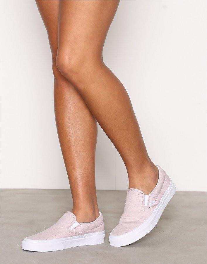 Vans Ua Classic Slip-On Kengät Vaaleanpunainen