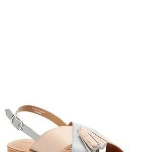 Vero Moda Catja leather sandal Rose Dust
