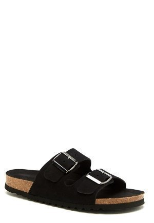 Vero Moda Julia leather sandal Black