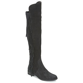 Vero Moda VMANNE LEATHER OVERKNEE BOOT saappaat