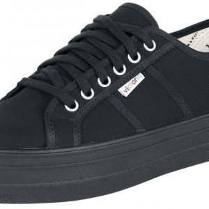 Victoria Basket Lona Plataforma Creepers-kengät
