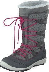 Viking Edda Dark Grey/Dark Pink