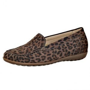 Waldläufer Loaferit Ruskea / Leopardi