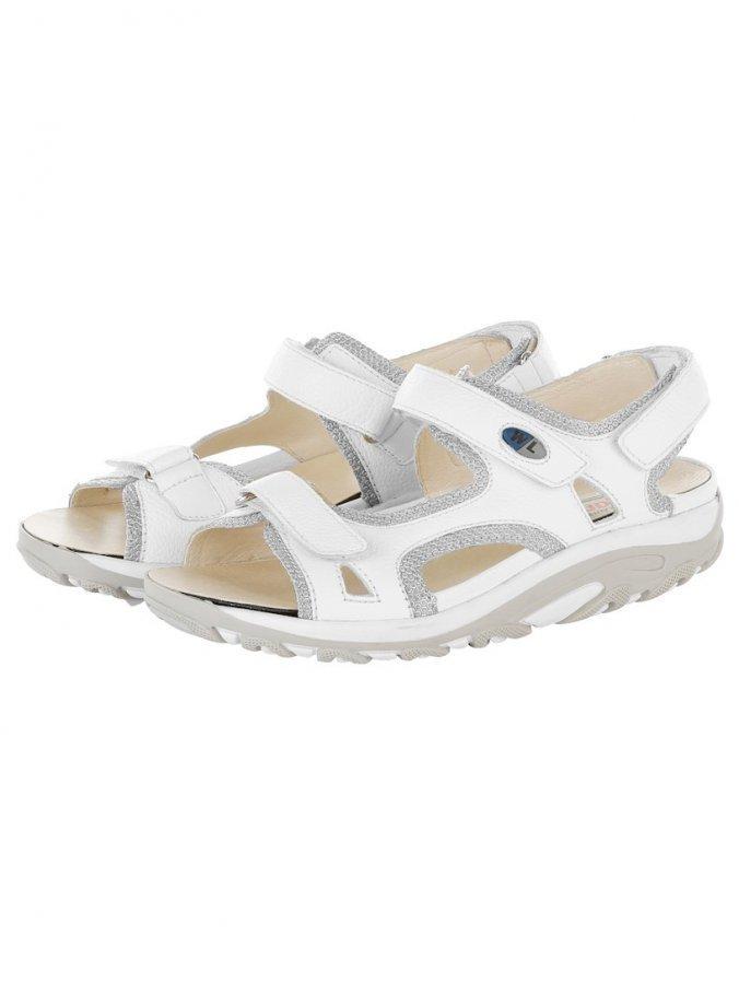 Waldläufer Sandaalit Valkoinen Hopeanvärinen