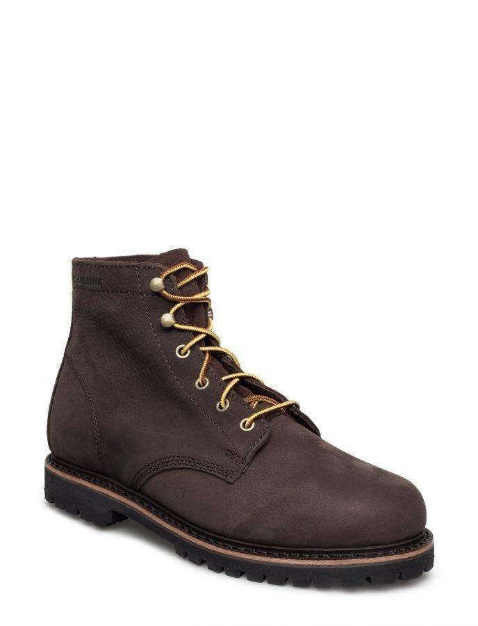 Wolverine Plainsman Brown Leather
