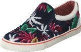 Wrangler Icon Slip On Canvas Blue Tropical