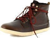 Wrangler Woodland Boot Dk Brown Leather