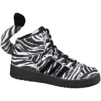 adidas Jeremy Scott Zebra  G95749 korkeavartiset tennarit